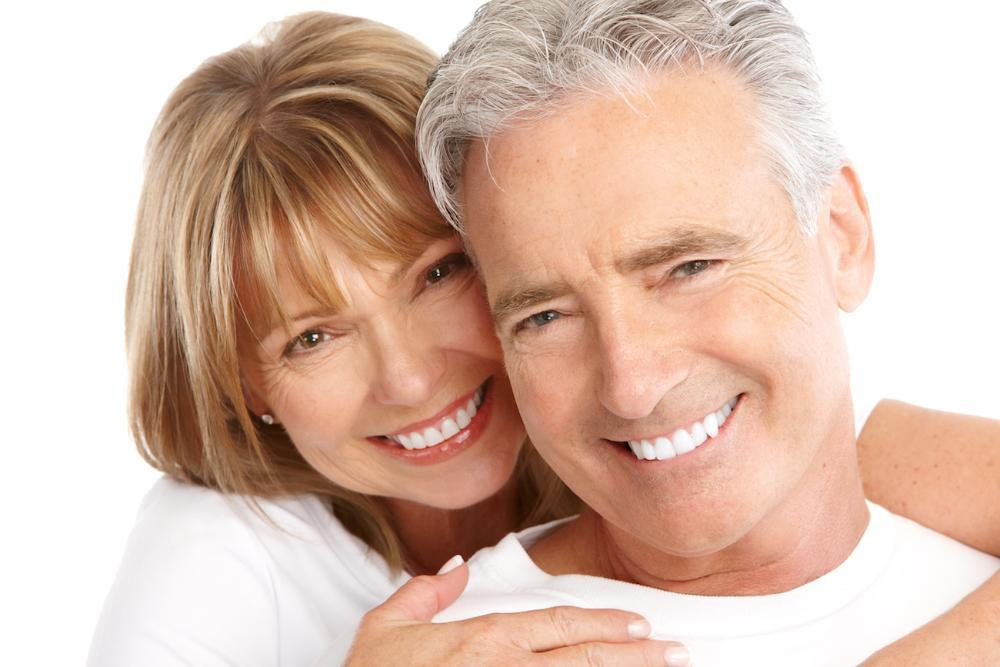 couple with dental implants in high point nc