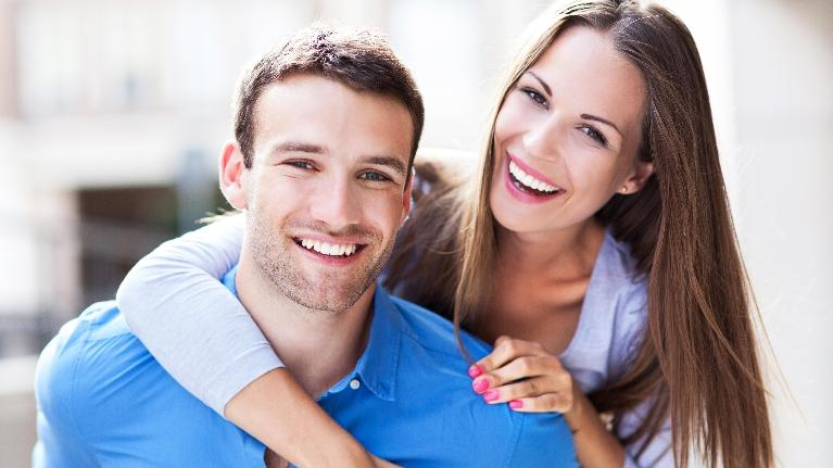 Young Couple Dental Implants | Deep River Family & Cosmetic Dentistry